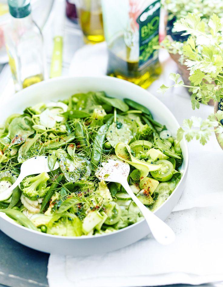 Green salad pour 6 personnes - Recettes Elle à Table