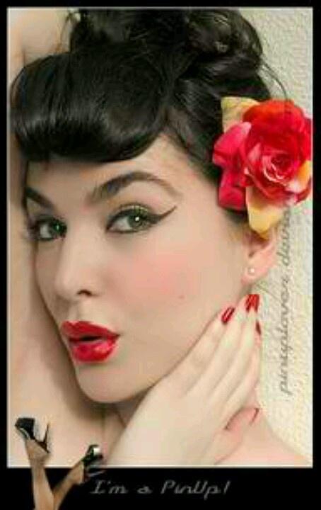 1950s Makeup   Re-facing The Canvas   Pinterest