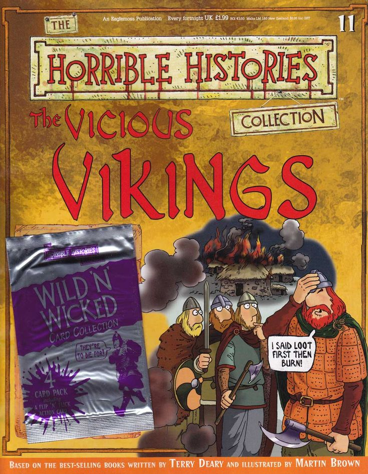 Vicious Vikings Horrible Histories Magazine available FREE online