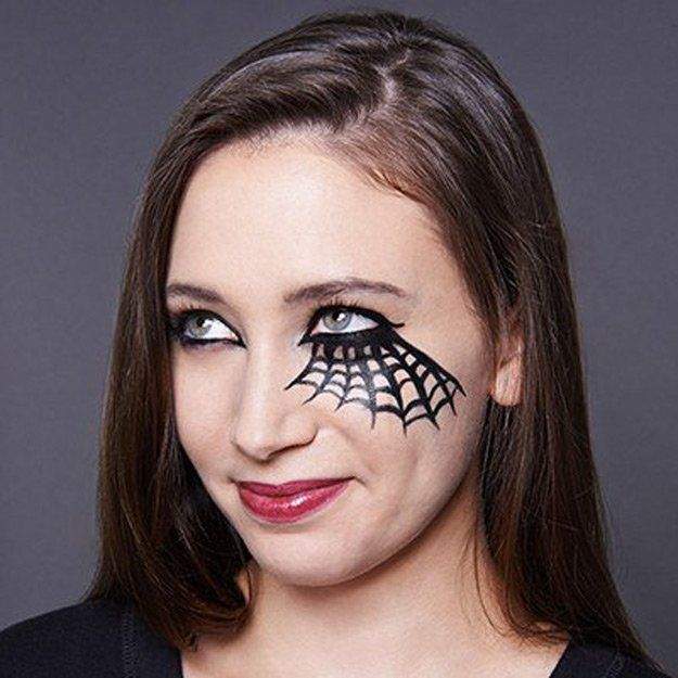Spider Queen | Cool Halloween Makeup | 25 Looks That Are Actually Easy