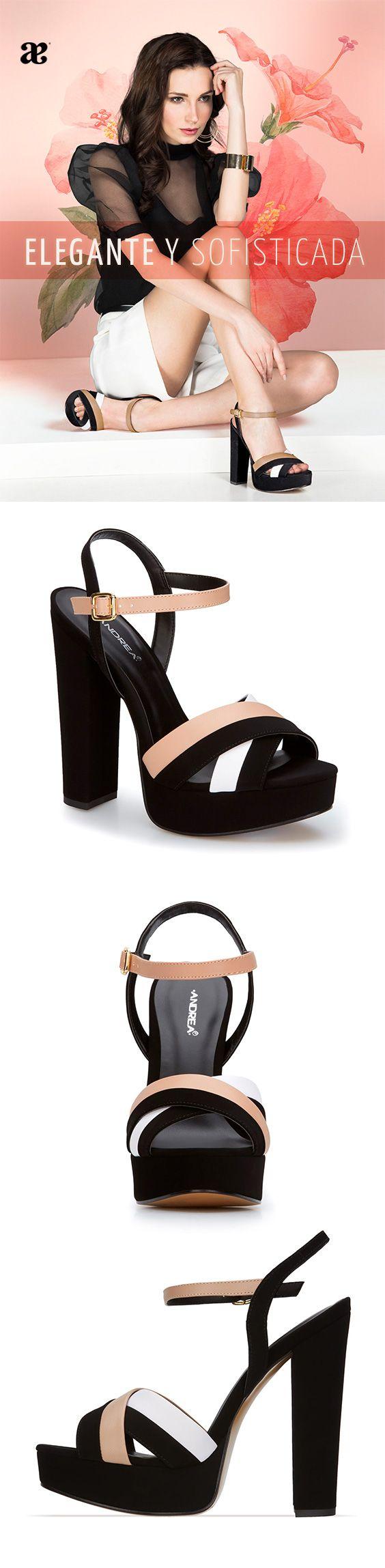 #Zapatos #dama #mujer #zapatillas #Heels #tacones #contraste #Estilo #vida #Frase  Estiliza tus pasos y deja huella con Andrea