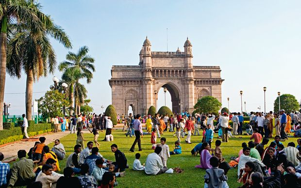 A trip to Mumbai used to revolve around temples and traffic, but today it's   more likely to entail shopping – and more shopping – with stop-offs for a   cocktail, ayurvedic treatment and Bollywood film.
