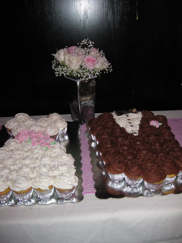 Great for Bridal Shower!!! | Pull Apart Cupcakes Cake ...