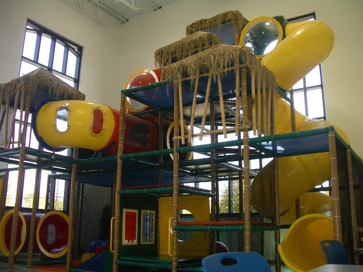 #YMCA - #Lakota #Middletown #OH -   #Soft #toddler #play area #designed, #manufactured and installed by #Iplayco.  #indoor #playground #soft #play #equipment #structures #custom #theming