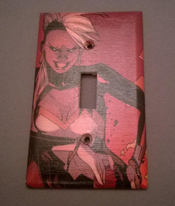 Comic Book X-men Storm superhero  comic light by PastePotPrefects