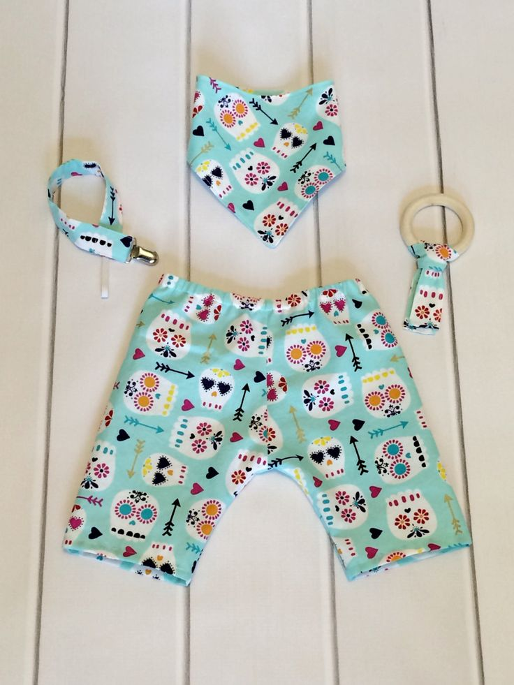 Sugar Skull Baby - Hipster Baby Clothes - Modern Baby Clothes - Cool Baby Clothes - Boutique Baby - Spring Baby - Summer - Baby Shower Gift