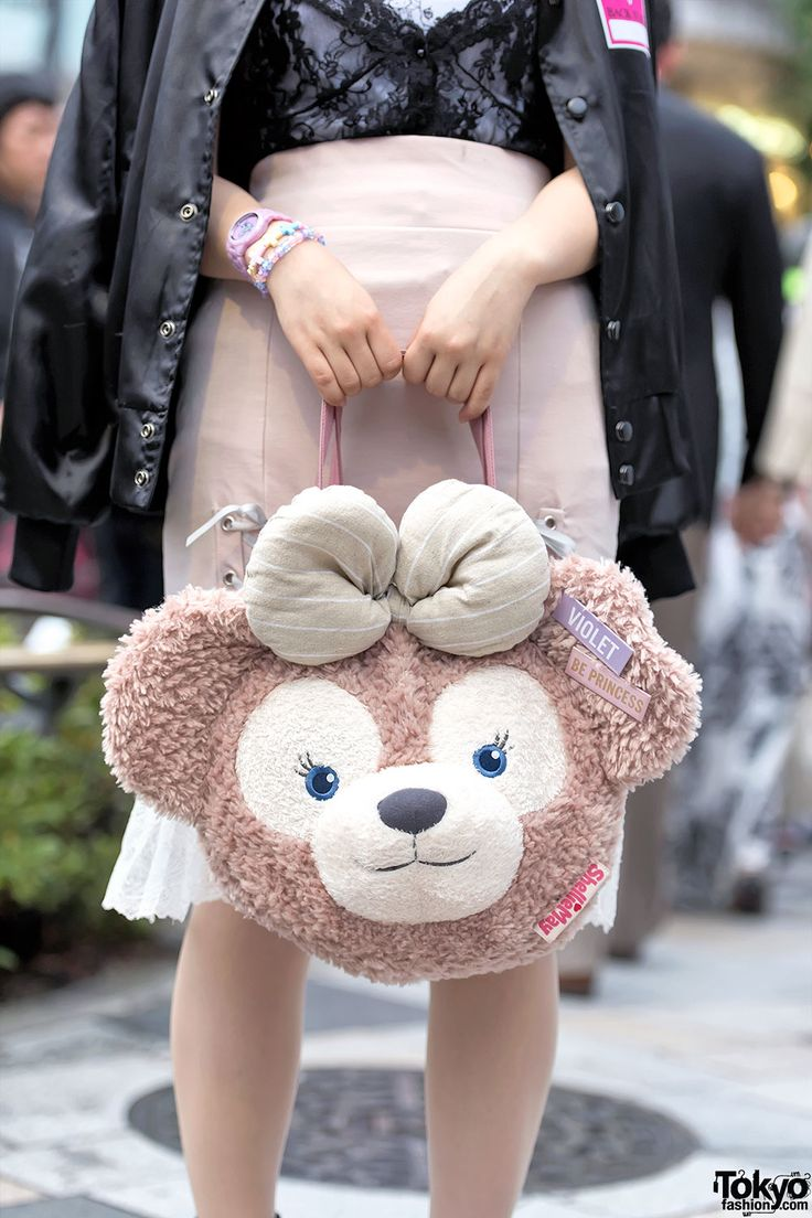 Shellie May Disney Bear Purse