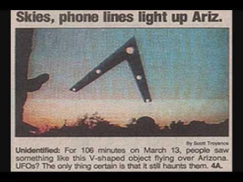 Τη νύχτα της 13ης Μαρτίου 1997, μια γραμμή φωτός σε σχήμα V βρισκόταν πάνω σε ένα αντικείμενο γιγάντιων διαστάσεων το οποίο εισβάλει στον...