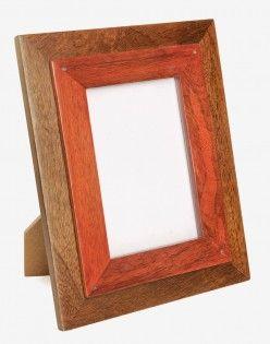 Iris Wood Photo Frame