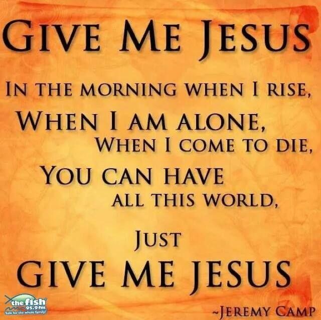 Pursuing Jesus –