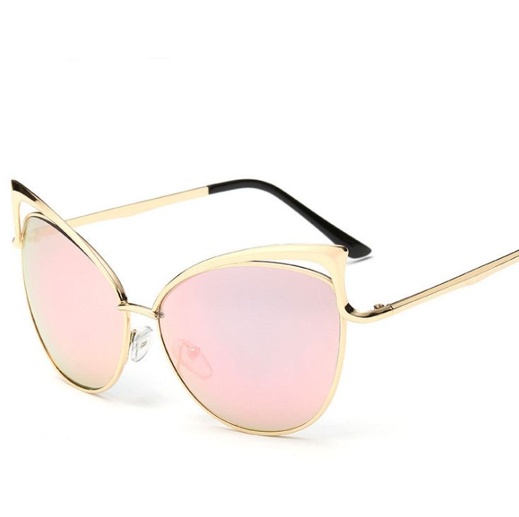 Cheap Ojo de gato las gafas de METAL vintage marco para mujer de marca de oro medio capítulo gafas de sol gafas de sol Feminino, Compro Calidad Gafas de Sol directamente de los surtidores de China: New 2015 fashion Cat Eye Sunglasses women vintage eyewear Metal Legs Brand Designer retro sun glasses Oculos De Sol Femi