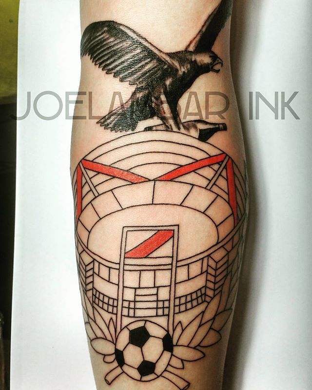 Gracias Ivan! #joelambarink  #tatuajes #tatus #tatu #tatuaje #cariverplate #fernetbranca