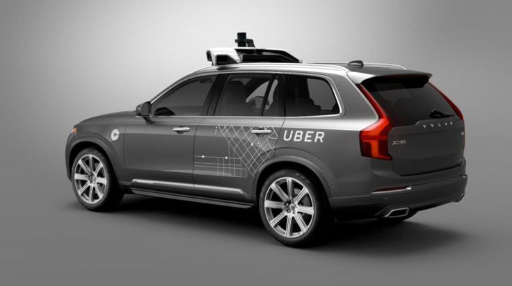 More bad news for Uber: one of the ride-hailing giant's self-driving Volvo SUVs has been involved in a crash in Arizona — apparently leaving the vehicle flipped onto its side, and with damage to at least two other human-drivencars in the vicinity. The aftermath of the accidentispictured...