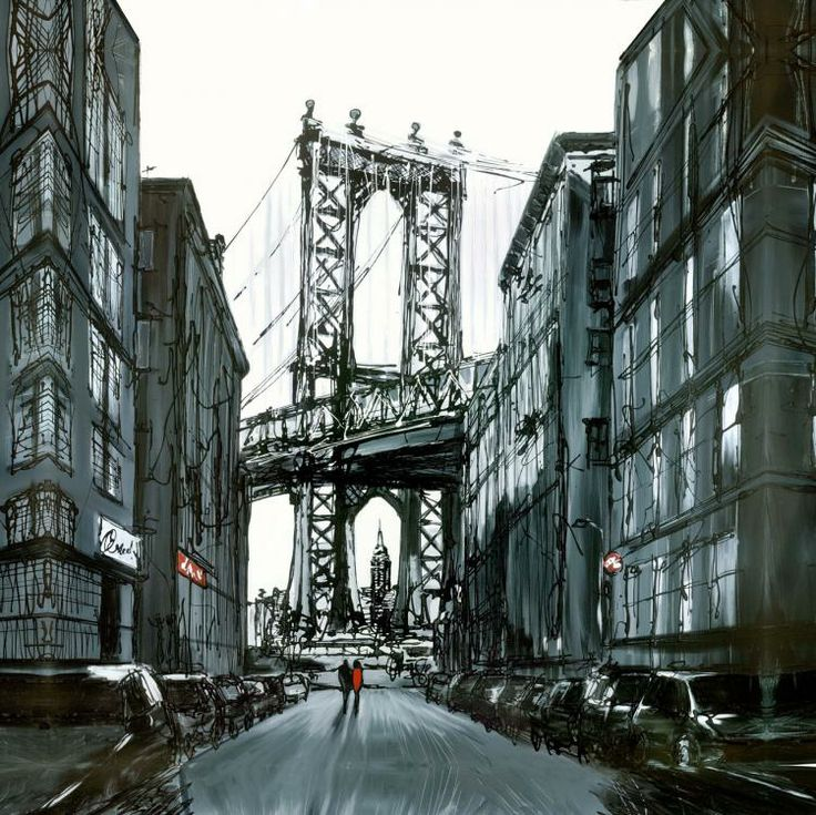 Once A Time In America by Paul Kenton. Available from Artworx Gallery, Shropshire, UK. www.artworx.co.uk