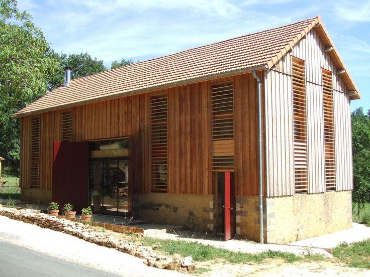 Transformation d'un séchoir à tabac en résidence secondaire - Dordogne 24