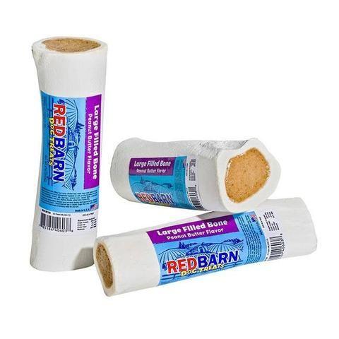 Redbarn Large Peanut Butter Filled Dog Bones