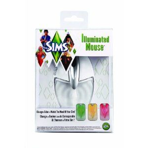 This is the geekiest thing ever but I so want it: Mad Catz Sims 3 Illuminated Mouse for PC