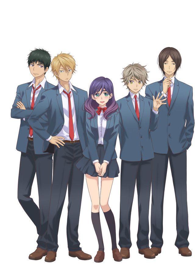 "Crunchyroll - ""Kiss Him, Not Me"" TV Anime Visual Posted"