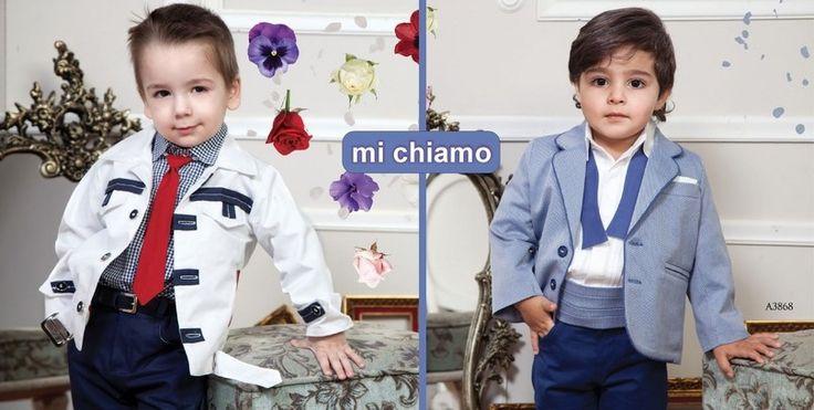 βαπτιστικα αγορι κουστουμάκια Mi Chiamo by Ledim