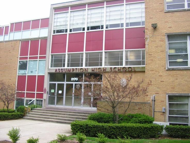 Best High School in Louisville, KY!  Assumption High School...oh YEA...GO ROCKETS!!!