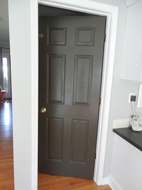 Amber B Interiors Black Interior Doors Painting Doors