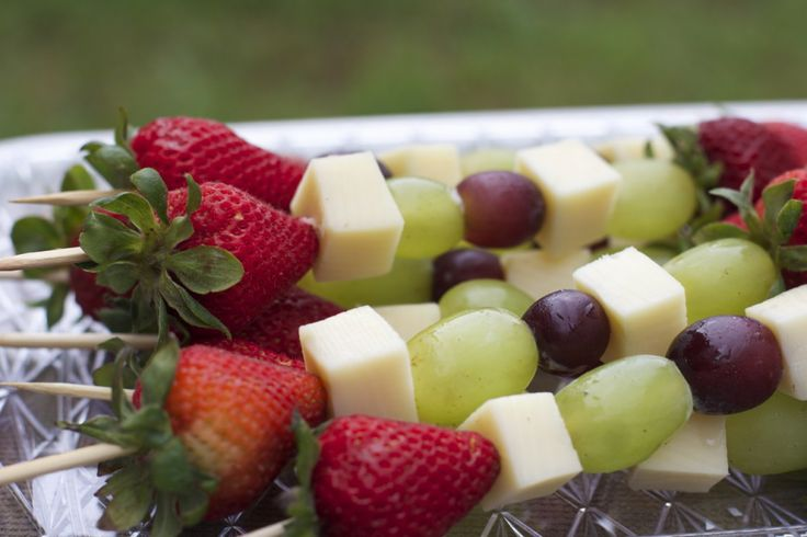 Fruit & Cheese Kabobs- Easy Cookout Appetizer by Divas Can Cook