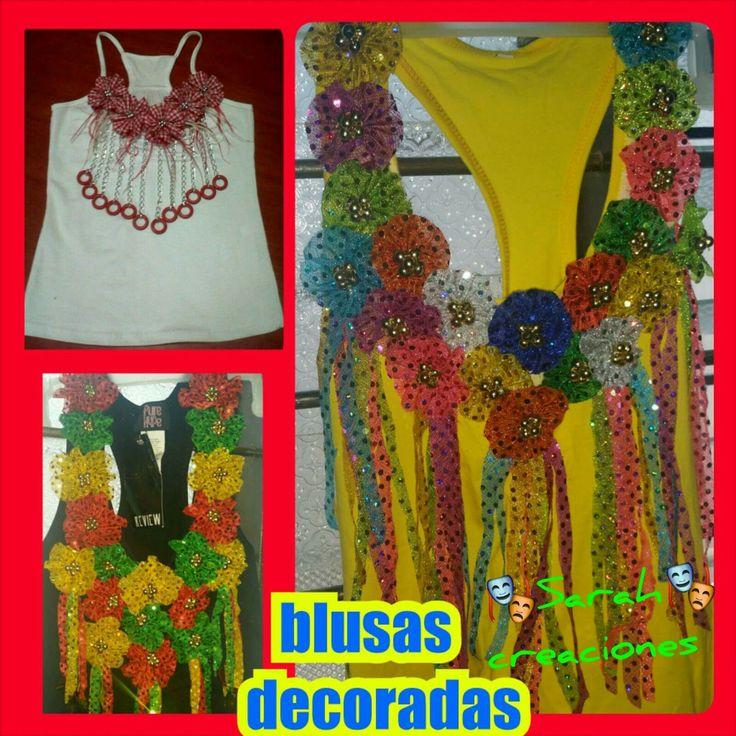 Blusas carnavaleras