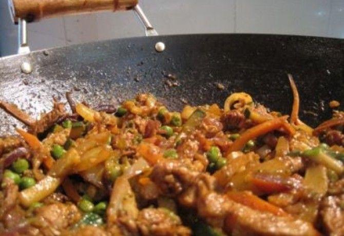 Szecsuáni sertés Katharosz konyhájából