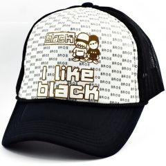 I Like Black Cap Şapka