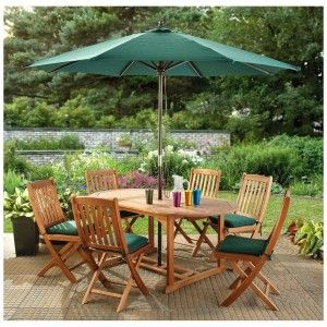Patio Table Umbrella Design