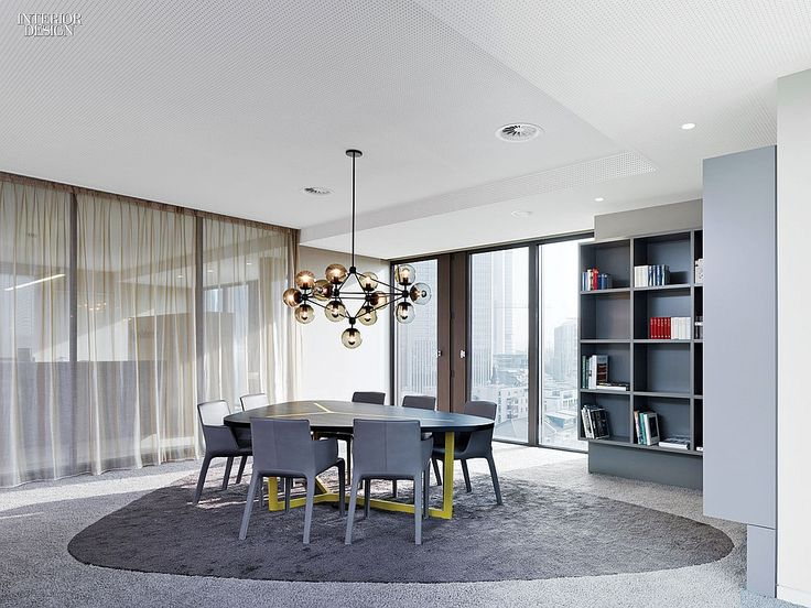 Lofty Ambitions: Ippolito Fleitz Transforms a Frankfurt Office Tower | Projects | Interior Design