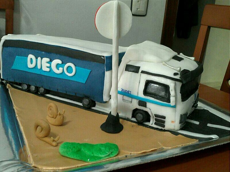 Truck Cake Images