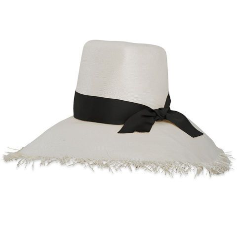 13 best hats for the summer season: Preston and Olivia hat; for when you want some major shade and a feminine touch.