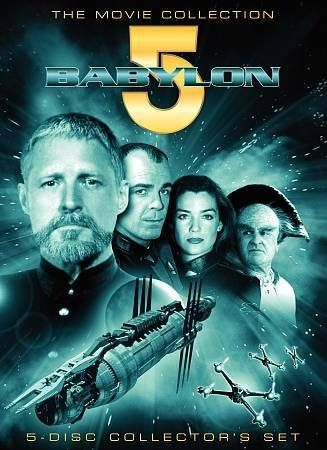 Babylon 5 - The Movies Collection  5-DISC DVD SET New