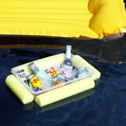 Use pool noodles to keep your drinks chilled and afloat with this #DIY. #BuildersSummerDIY step by step instructions on the website. Link in bio.  #pooltime #funinthesun #summertime #swimtime #summerfun #holidays #summer #outdoors #DIYgarden #summerDIY #sumerfun #familyfun  https://goo.gl/AnXRno
