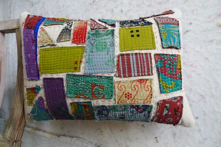 pillow cover - Material Obsession blog This would make a great design for handbag made of canvas