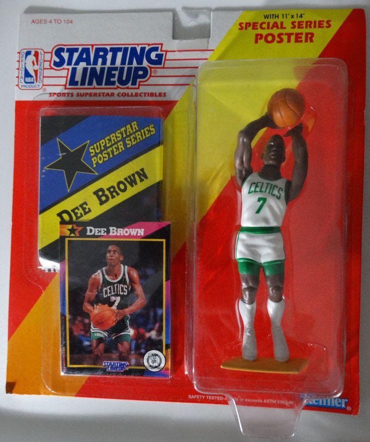 1992 Starting Lineup Dee Brown Boston Celtics Kenner Basketball Figure #Kenner