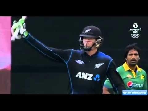 New Zealand vs Pakistan 3rd ODI - Full Match Highlights - 31/01/2016