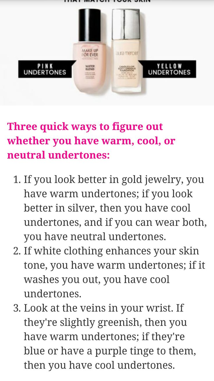 Pin by ally frazier on makeup Neutral undertones, Warm