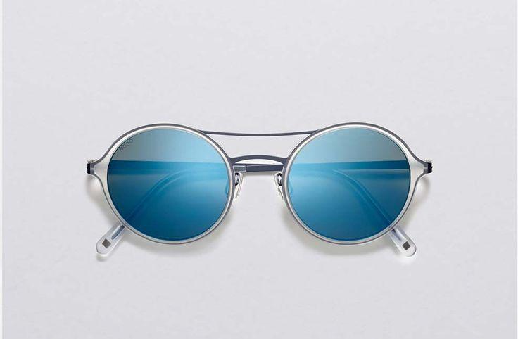 MODO Paper-Thin Titanium sunglasses 663 Crystal