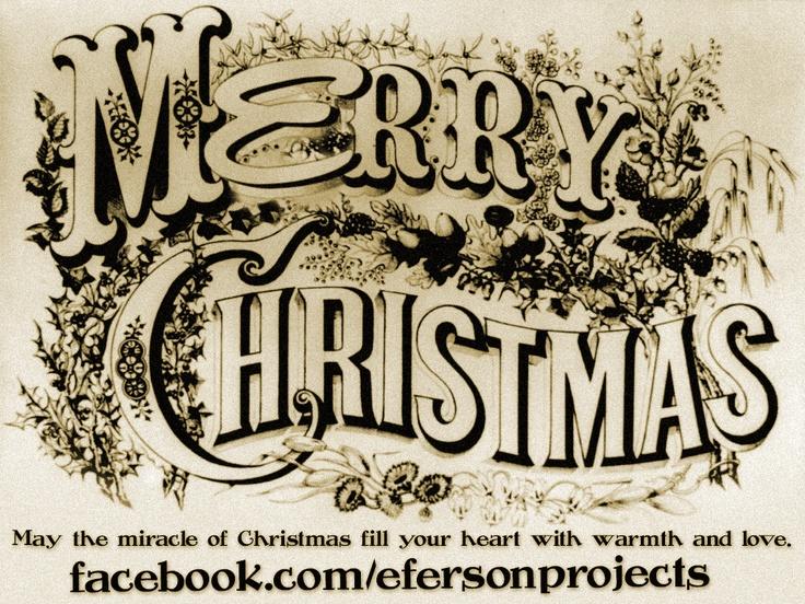 Merry Christmas Eferson Style! Retro and Vintage. www.eferson.es