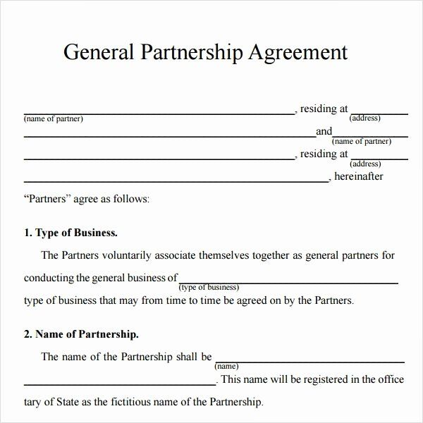 Each partner shares a portion of the partnership's profits and losses and each partner is personally liable for the debt and obligations of the partnership. View 34 Business Simple Joint Venture Agreement Template