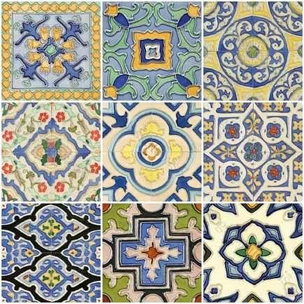 Hand Painted Tiles | Atticmag | Kitchens, Bathrooms, Interior Design