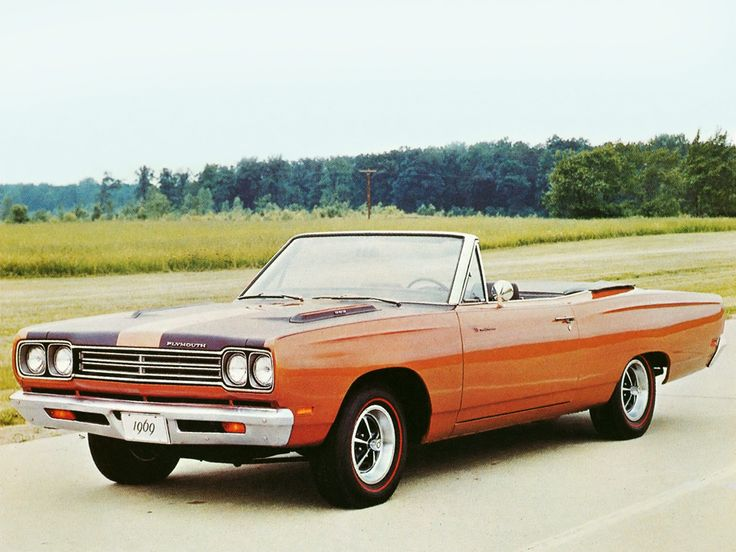 1969 plymouth roadrunner   Plymouth Road Runner 383 Convertible (RM27) '1969