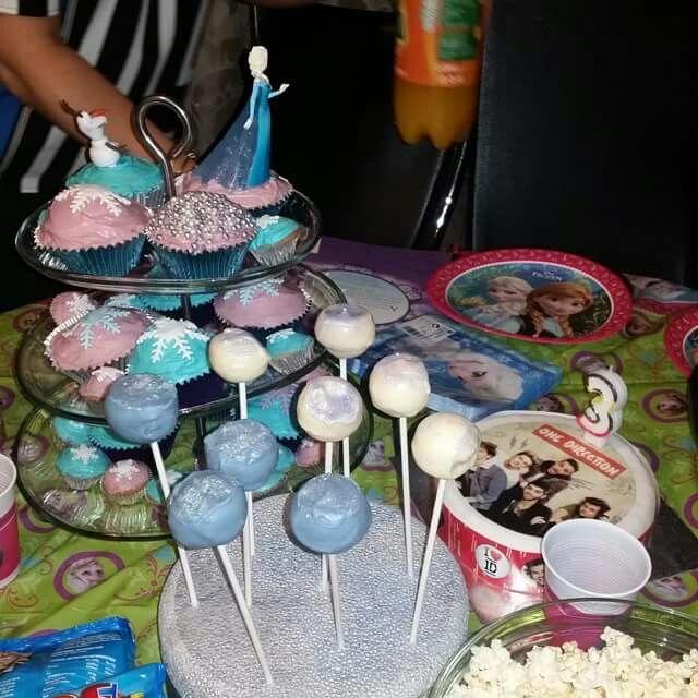 Frozen Cakepop's