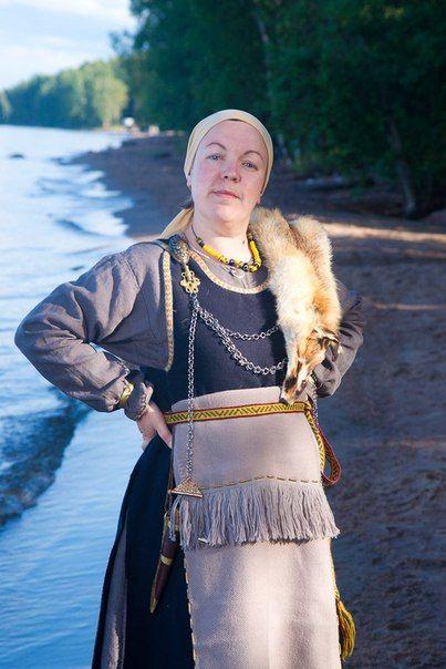 Женщина племени корела.