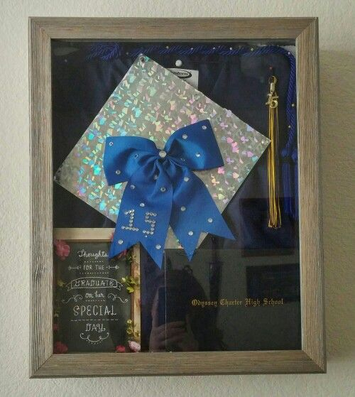 After several months of trying to find the materials to make the shadow box and then · College GraduationGraduation IdeasHow ... & 25+ unique Graduation shadow boxes ideas on Pinterest   Graduation ... Aboutintivar.Com