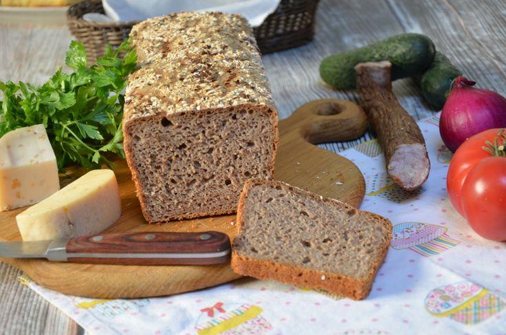 Przepis na prosty chleb na zakwasie bez drożdży. Chleb na zakwasie pszenny lub…