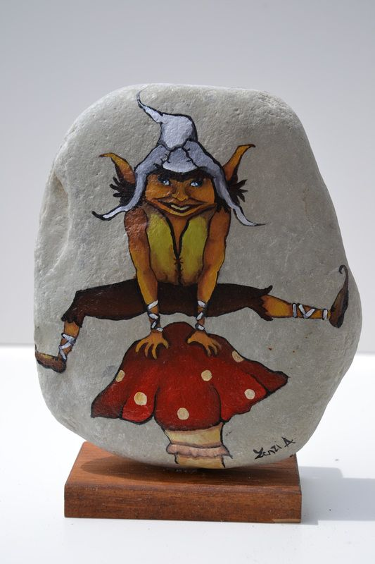 gnomi ed elfi - L'esercito dei sassi dipinti