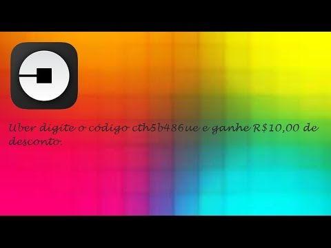 Uber Digite o Código cth5b486ue e Ganhe R$10,00 de Desconto  ♡ ♥